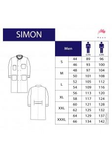Ud sortiment: størrelse 48 Haen Lab coat Simon 71010