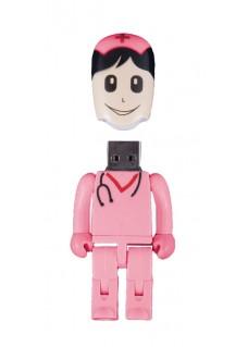 USB Stick Sygeplejerske Pink