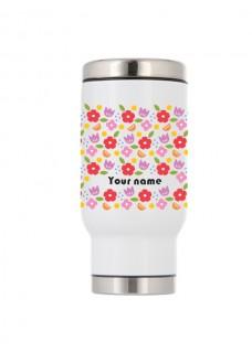 Termoflaske Vintage Blomster