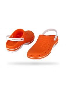 Wock Clog 05 Hvid / Orange 47-48