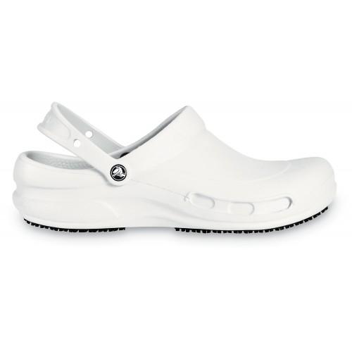 Ud sortiment: størrelse 4142 Crocs Bistro hvid