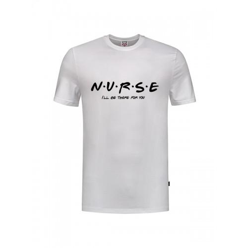 T-Shirt Nurse For You Hvid