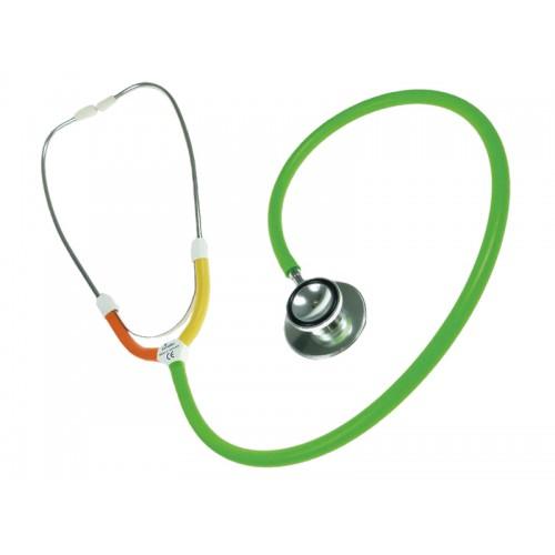 CBC Dual Head Stetoskop Multi Grøn