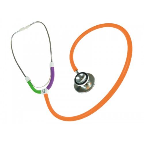 CBC Dual Head Stetoskop Multi Orange