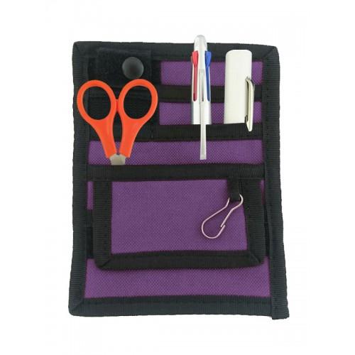 Sygepleje Organizer Sort/Violet + GRATIS Tilbehør