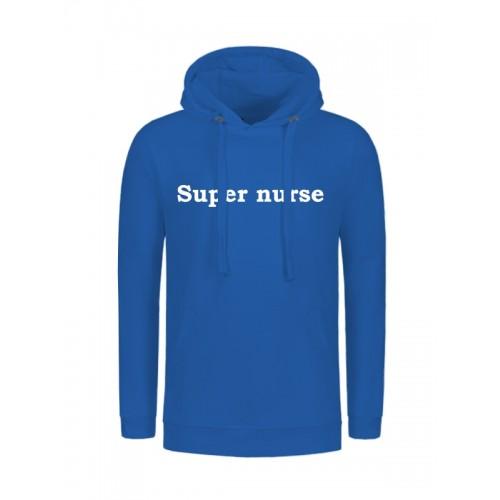 Hættetrøjer Super Nurse Blå