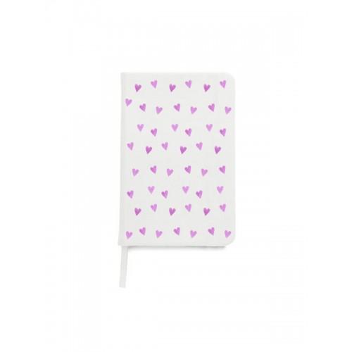 Notesbog A5 Pink Hearts