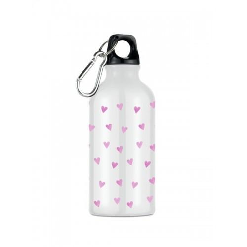 Sport drikkeflaske Pink Hjerter