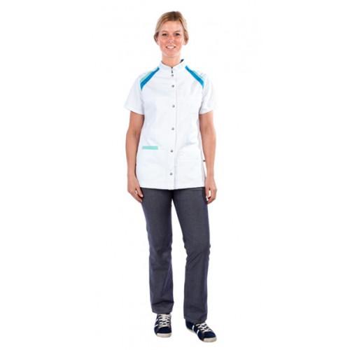 Haen sygeplejerske jakke Zoë Blå Peacock