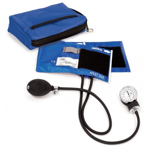 1. klasses Aneroid Blodtryksmåler med Taske Kongeblå
