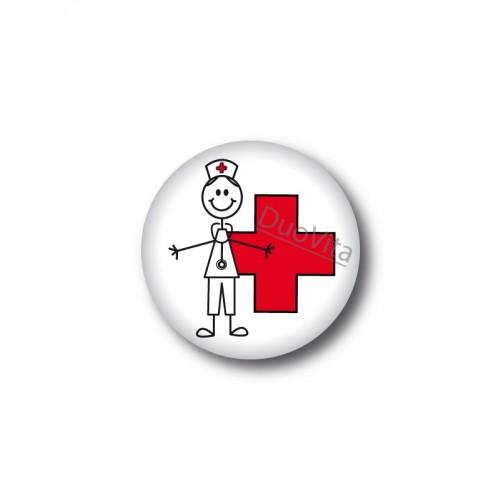 Button Stick Nurse Cross