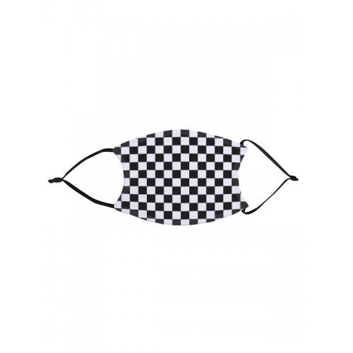 Ansigtsmaske Skakbræt Sort