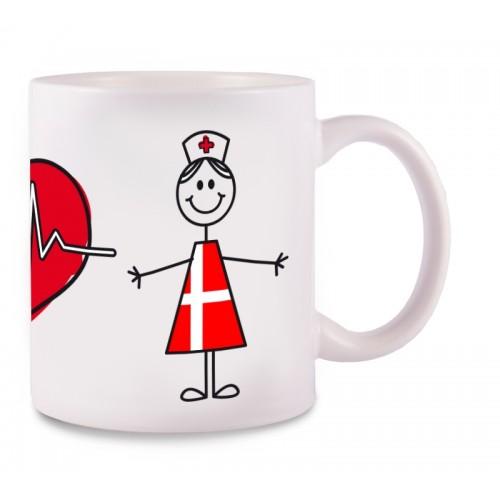 Tasse Stick Nurse Danmark