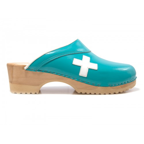 OUTLET size 41 Tjoelup First Aid Aqua White