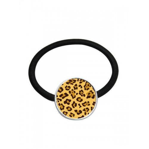 Elastic Hair Band Panther Yellow