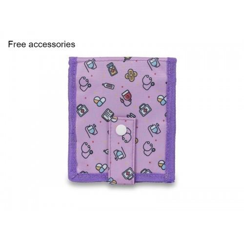 Elite Bags KEEN'S Sygepleje Organiser Symboler Purple + GRATIS tilbehør