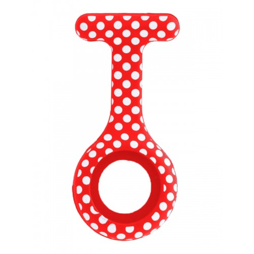 Silikone Cover Polka Dots Rød