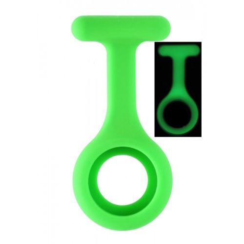 Selvlysende Silikone Cover Grøn