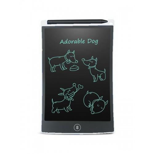 LCD Writing Pad 8.5inch Hvid