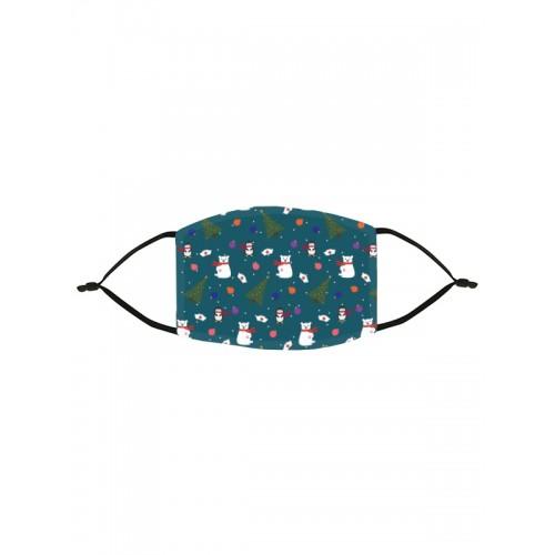 Ansigtsmaske Julesymboler