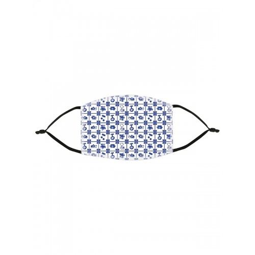 Ansigtsmaske Old Blue