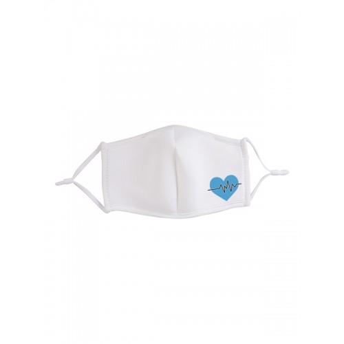 Ansigtsmaske Blå Hjerte