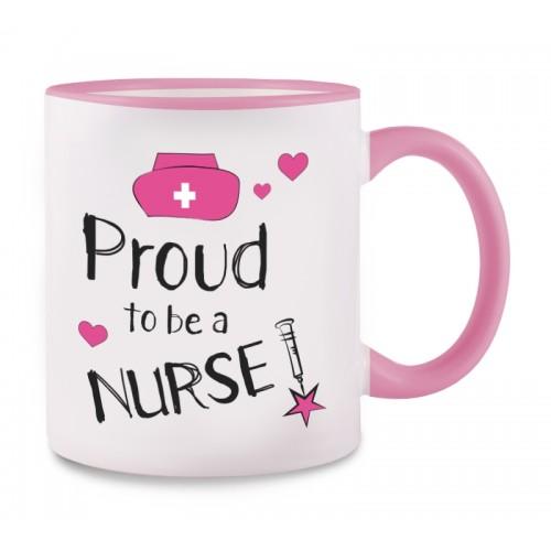 Krus Proud to be a Nurse 2 Lyserød