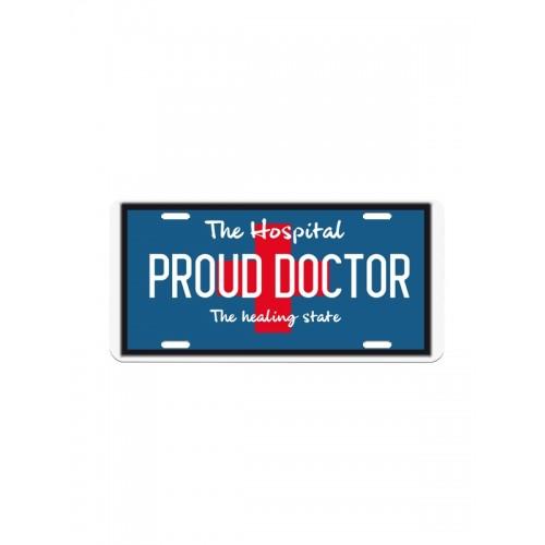 Nummerplade Proud Doctor