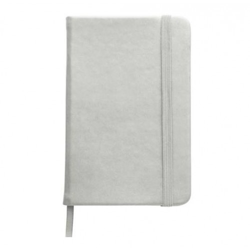 Notesbog A6 Sølv
