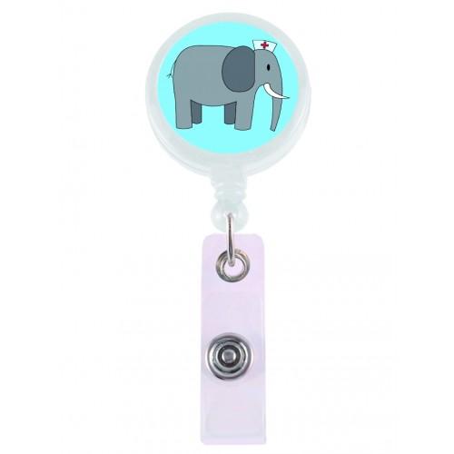 Retracteze ID Holder Elefant
