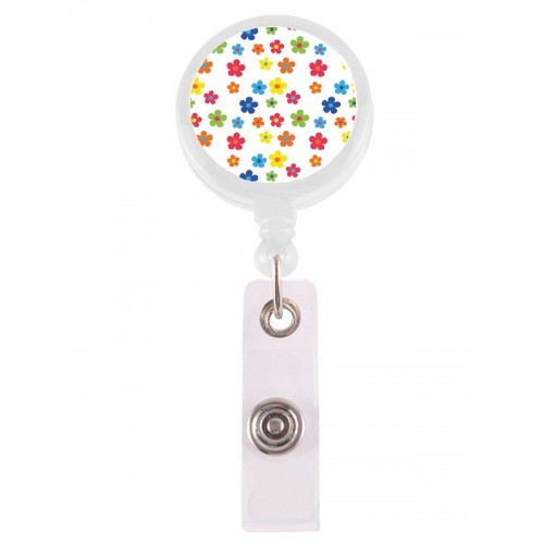Retracteze ID-Holder Little Flowers