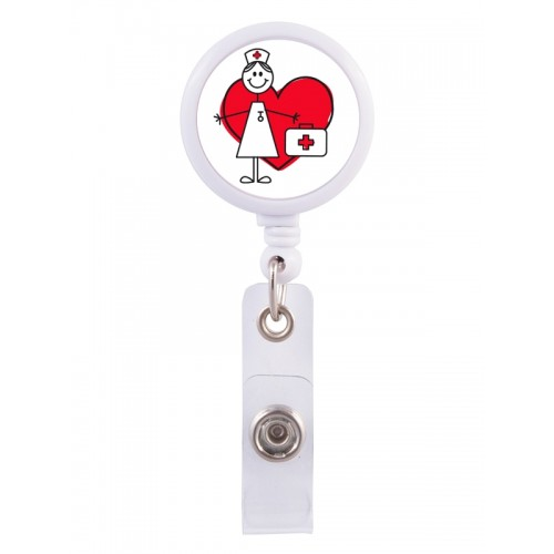 Retracteze ID-Holder Stick Nurse