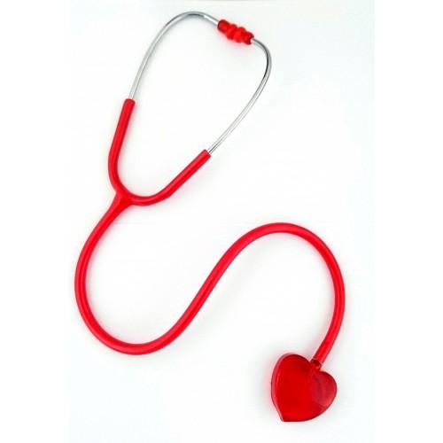 Stetoskop Clear Sound - Hjerte Rød