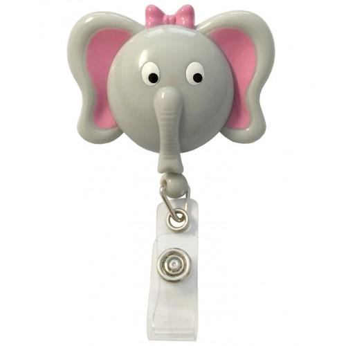 Deluxe Retracteze ID Holder Elephant