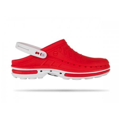 Wock Clog 17 Hvid / Rød